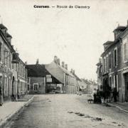 Courson-les-Carrières (89) La route de Clamecy CPA