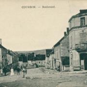 Courson-les-Carrières (89) Le boulevard CPA