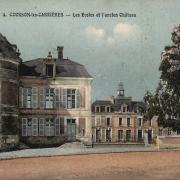 Courson-les-Carrières (89) Le château CPA