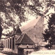 Courtenay (45) Eglise Saint-Pierre et Saint-Paul CPA