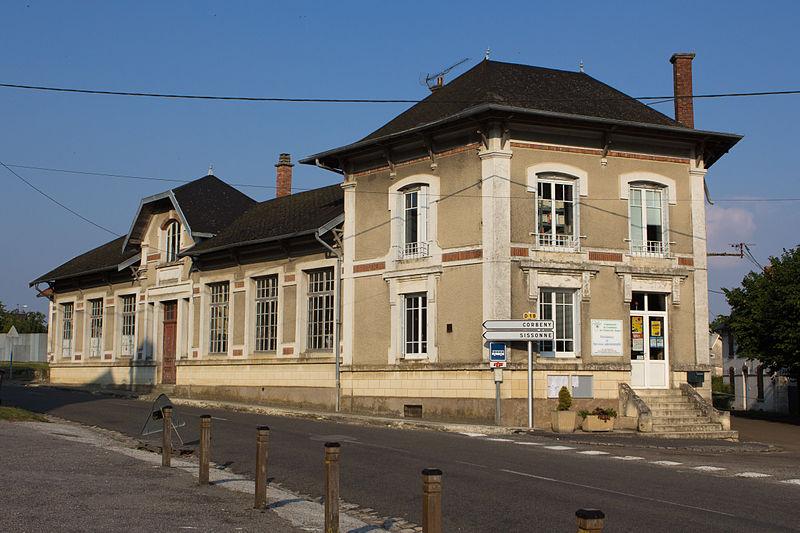 Craonne (Aisne) L'ancienne école de 1926