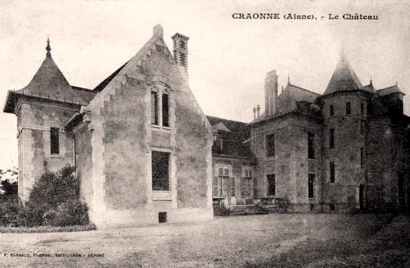 Craonne (Aisne) CPA Château