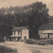 Craonne (Aisne) CPA la gare