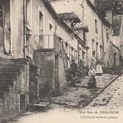 Craonne (Aisne) CPA rue avant 1914