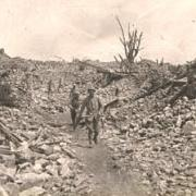 Craonne (Aisne) CPA ruines de la grande rue