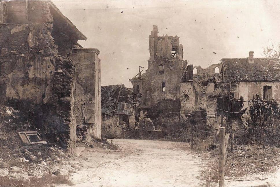 Craonne (Aisne) CPA ruines14-18