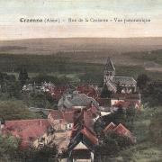 Craonne (Aisne) CPA vue générale depuis la croisette