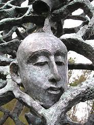 Craonne (Aisne) Statue Haïm Kern détail