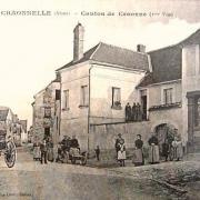 Craonnelle (Aisne) CPA café-billard