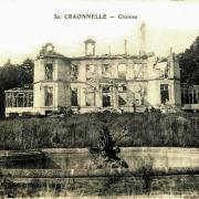 Craonnelle (Aisne) CPA château en ruines