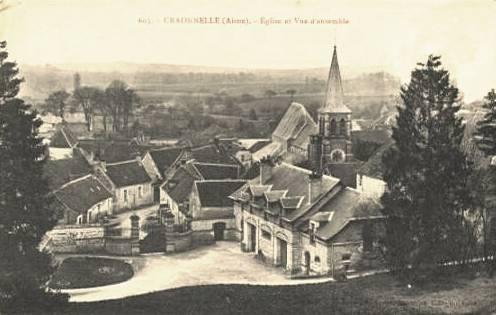 Craonnelle (Aisne) CPA vue générale avant 1914