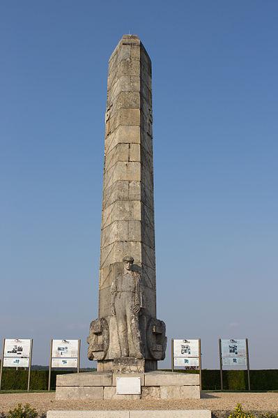Craonnelle (Aisne) Monument des Basques