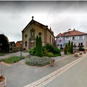 Crastatt 67 mairie et eglise