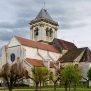 Cravant (89) L'église Saint-Pierre Saint-Paul