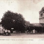 Cravant (89) La Porte d'Orléans CPA