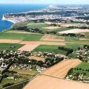 Criquebeuf-en-Caux (Seine Maritime) Vue aérienne