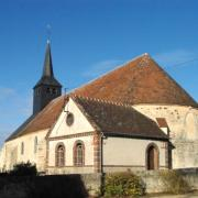 Crucey-Villages (28) L'église Saint-Aignan