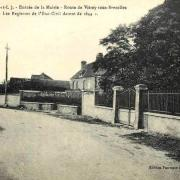 Crucey-Villages (28) La Mairie CPA