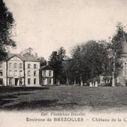 Crucey-Villages (28) Vitray-sous-Brézolles, le château de la Choltière CPA