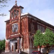 Crusnes 54 l eglise sainte barbe rouillée avant restauration