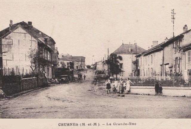 Crusnes 54 la grande rue cpa