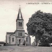 Crux-la-Ville (Nièvre) L'église Saint-Nazaire CPA