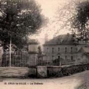 Crux-la-Ville (Nièvre) Le château CPA