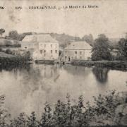 Crux-la-Ville (Nièvre) Le moulin du Merle CPA