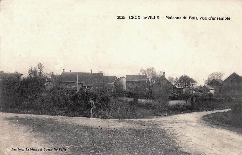 Crux-la-Ville (Nièvre) Les Maisons du Bois CPA