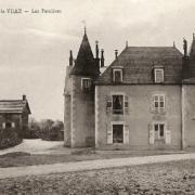 Crux-la-Ville (Nièvre) Les Perrières, le manoir CPA