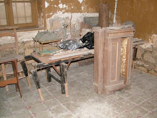 Cuissy-et-Gény (Aisne) CPA Abbaye (meubles)
