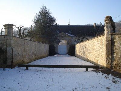 Cuissy-et-Gény (Aisne) ferme de Cuissy (ancienne abbaye)