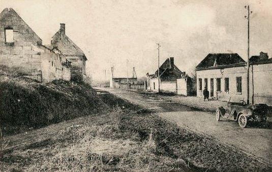 Cuts oise cpa 1914 1919