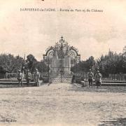 Dampierre (10) Le château CPA