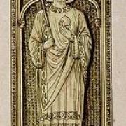 Dessin du tombeau de Charles II dit le Chauve