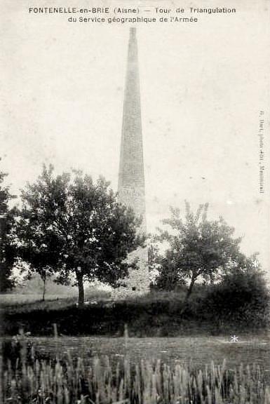Dhuys et morin en brie 02 fontenelle en brie la tour de triangulation de l armee