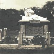 Dhuys et morin en brie 02 fontenelle en brie le monument aux morts cpa
