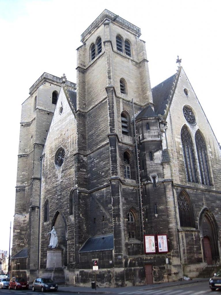 Dijon (Côte d'Or) L'église Saint-Jean