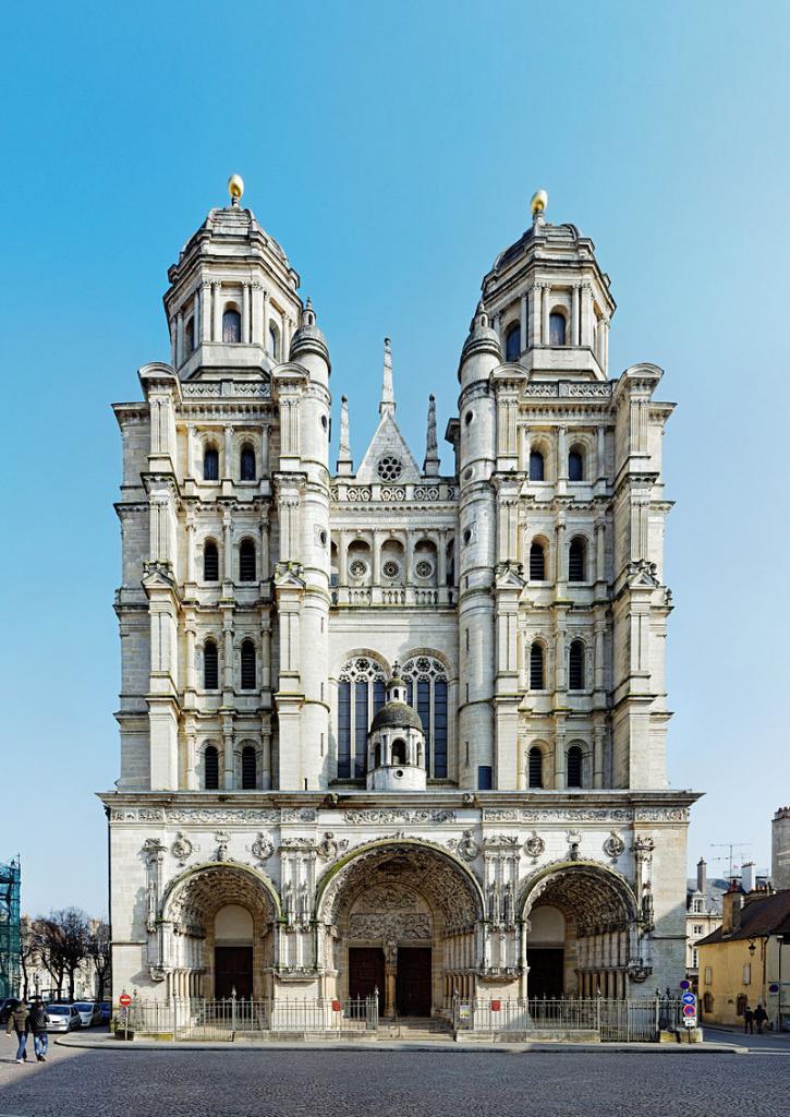 Dijon (Côte d'Or) L'église Saint-Michel