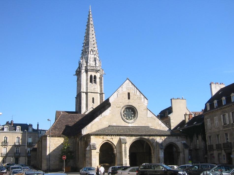 Dijon (Côte d'Or) L'église Saint-Philibert
