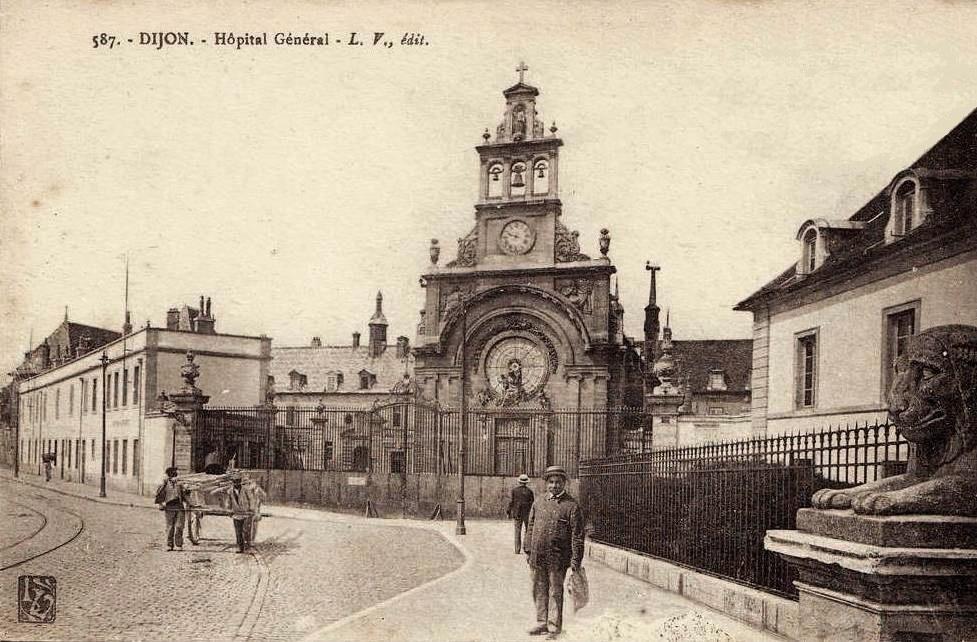 Dijon (Côte d'Or) L'Hôpital Général CPA