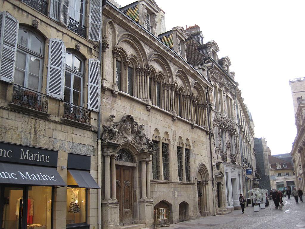 Dijon (Côte d'Or) L'Hôtel Aubriot