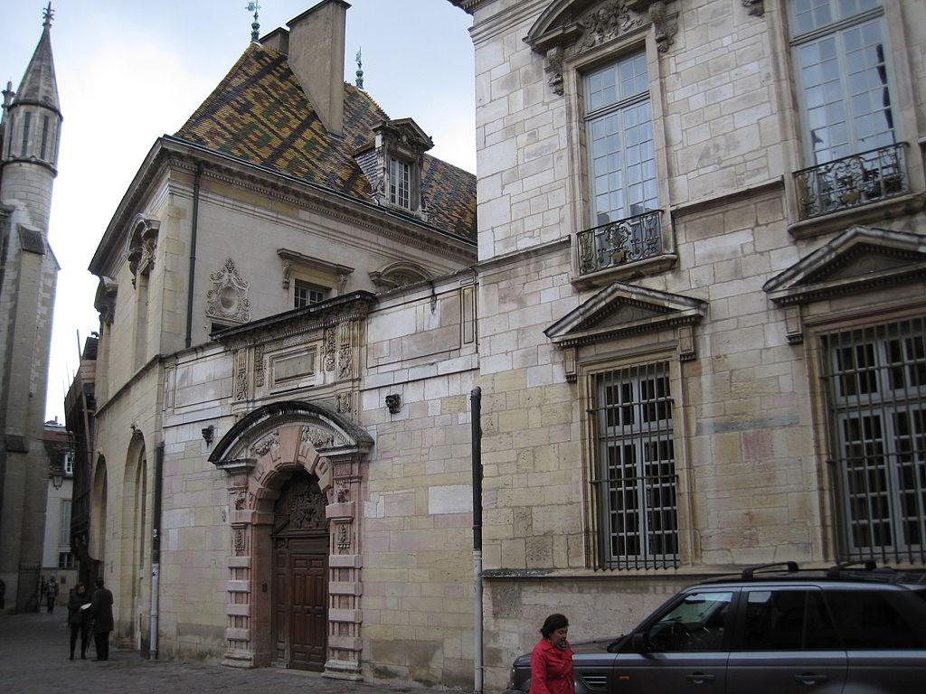 Dijon (Côte d'Or) L'Hôtel de Vogüé