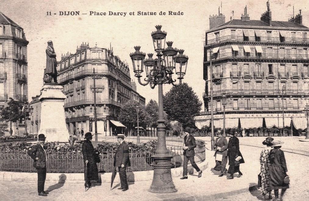 Dijon (Côte d'Or) La Place Darcy CPA