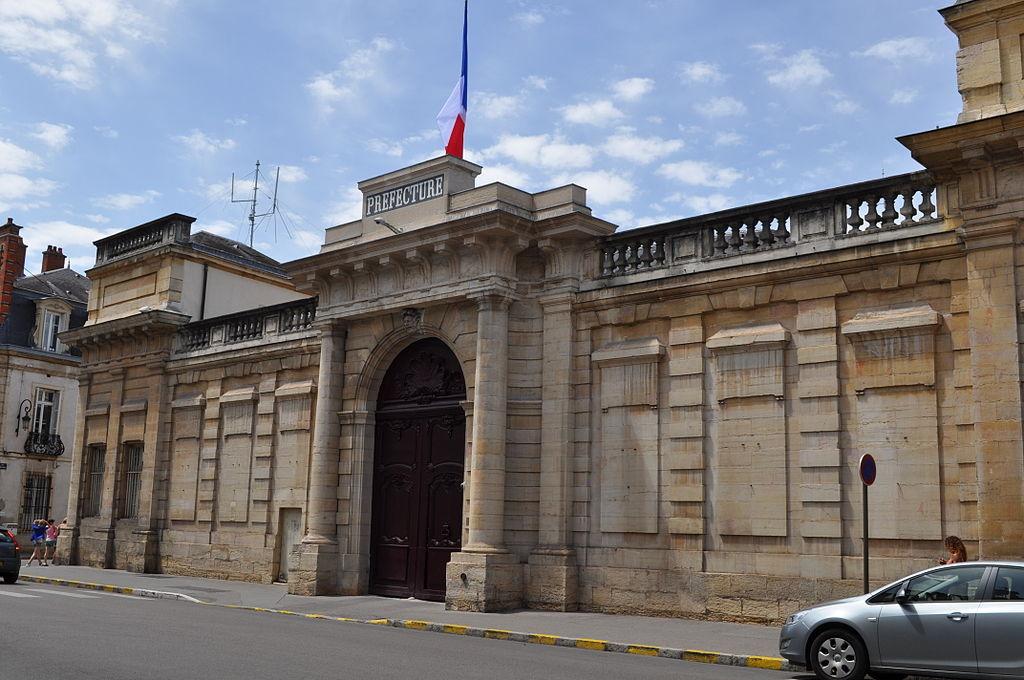 Dijon (Côte d'Or) La Préfecture