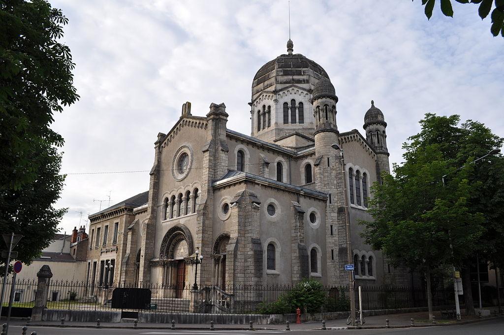 Dijon (Côte d'Or) La Synagogue