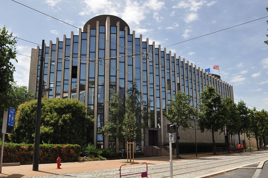 Dijon (Côte d'Or) Le Conseil Régional de Bourgogne