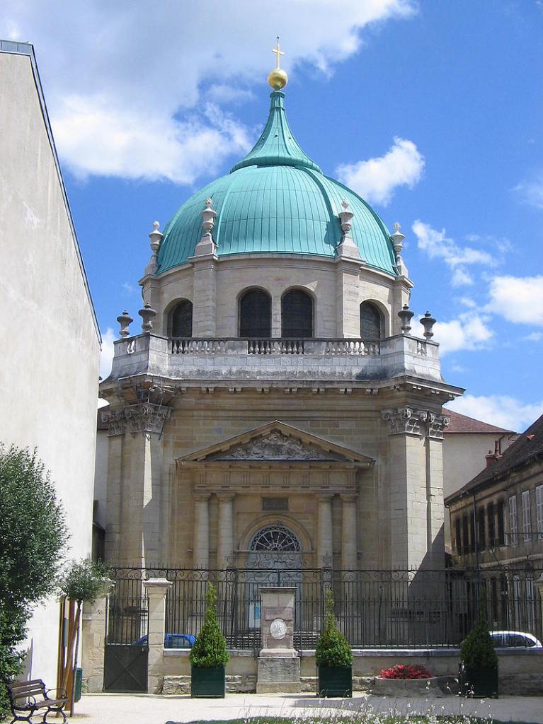 Dijon (Côte d'Or) Le Musée d'Art Sacré, ancienne église Sainte-Anne