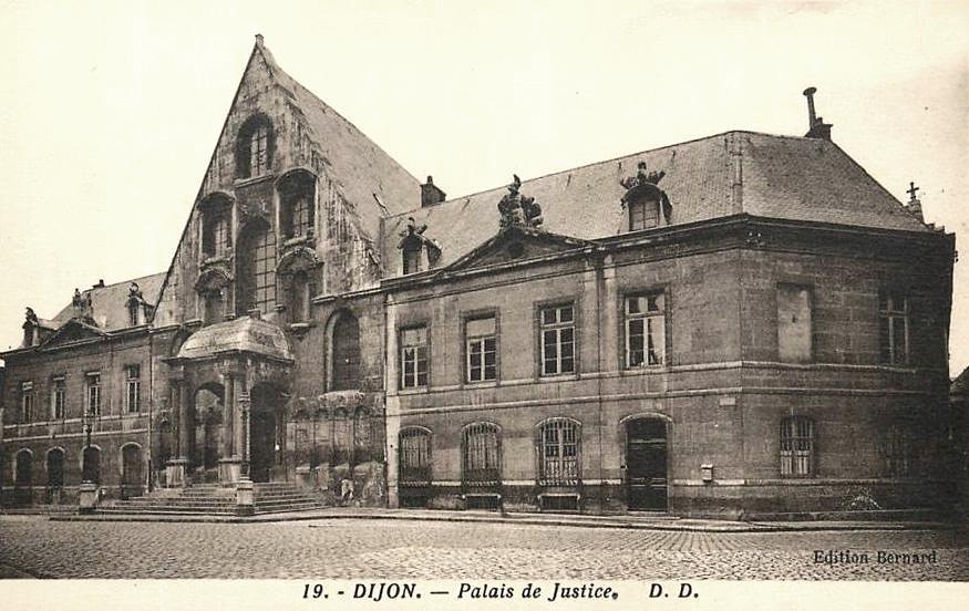 Dijon (Côte d'Or) Le Palais de Justice CPA