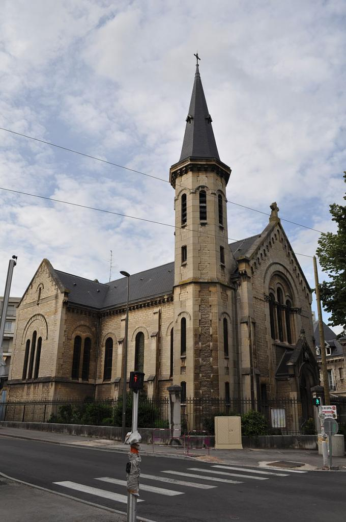 Dijon (Côte d'Or) Le Temple protestant
